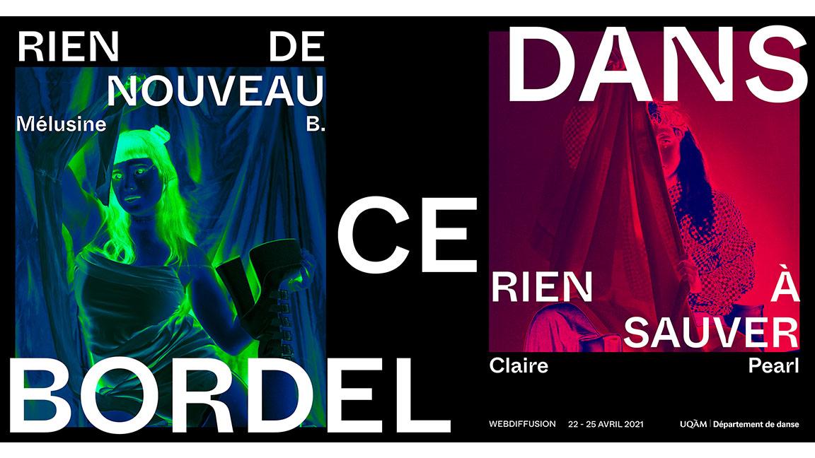 Département de danse de l'UQAM | Spectacle chorégraphique libre Hiver 2021 - WEBDIFFUSION EN DIFFÉRÉ