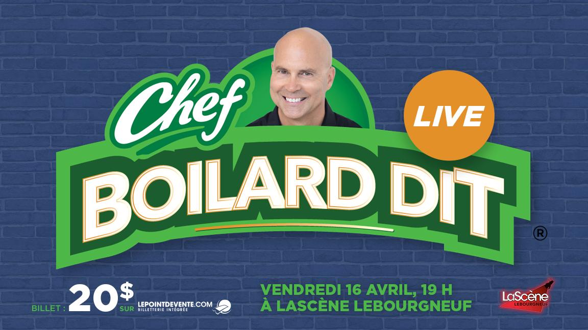 Chef Boilard dit LIVE #4