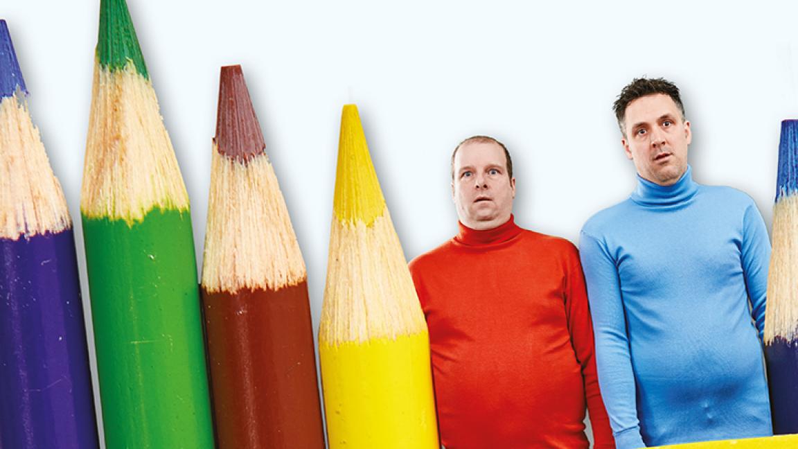 Ben & Jarrod Les 2 crayons les moins aiguisés de la boîte...