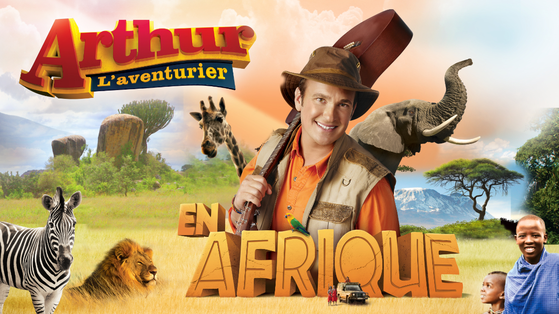 Arthur L'aventurier en Afrique, Spectacle en direct
