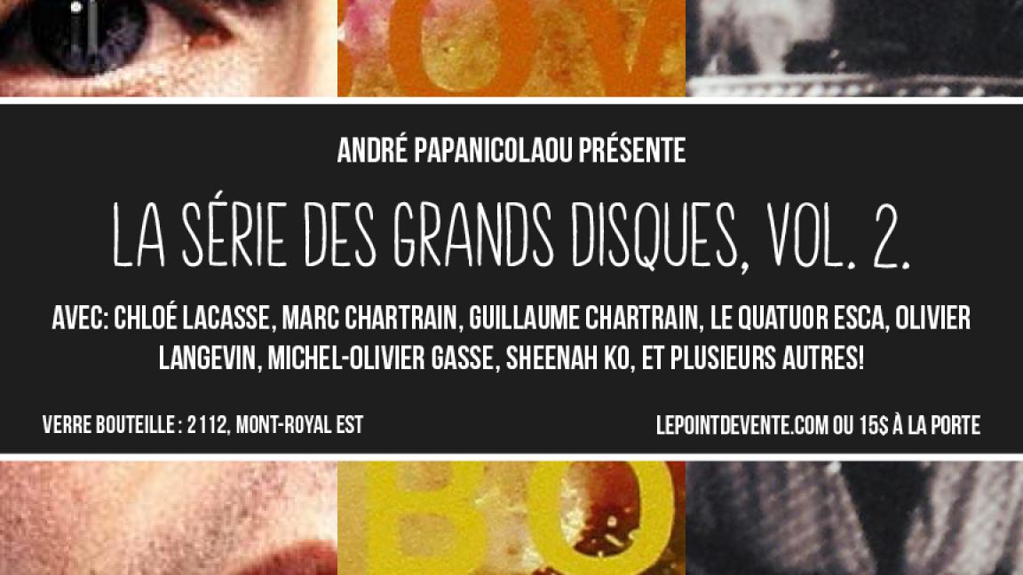 André Papanicolaou présente:Beck 'Sea Change'