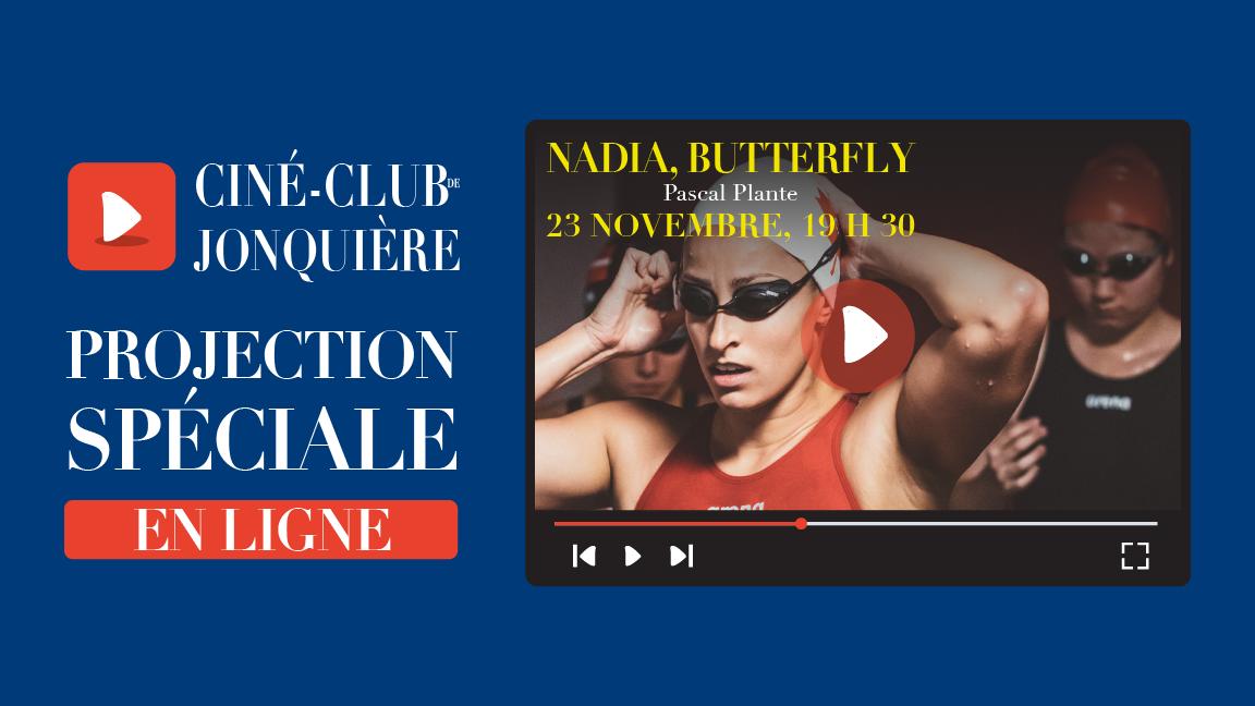 Projection du film Nadia Butterfly suivi d'un échange avec Pascal Plante