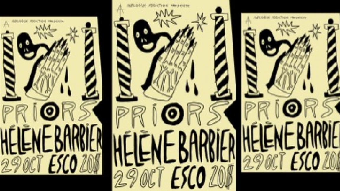 PRIORS | HÉLÈNE BARBIER | 10/29 | ESCO
