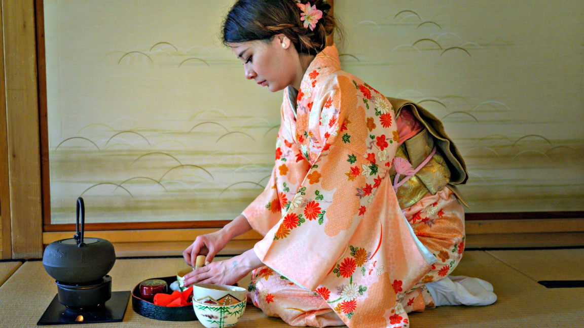 Double tea ceremony