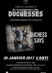 Duchess Says