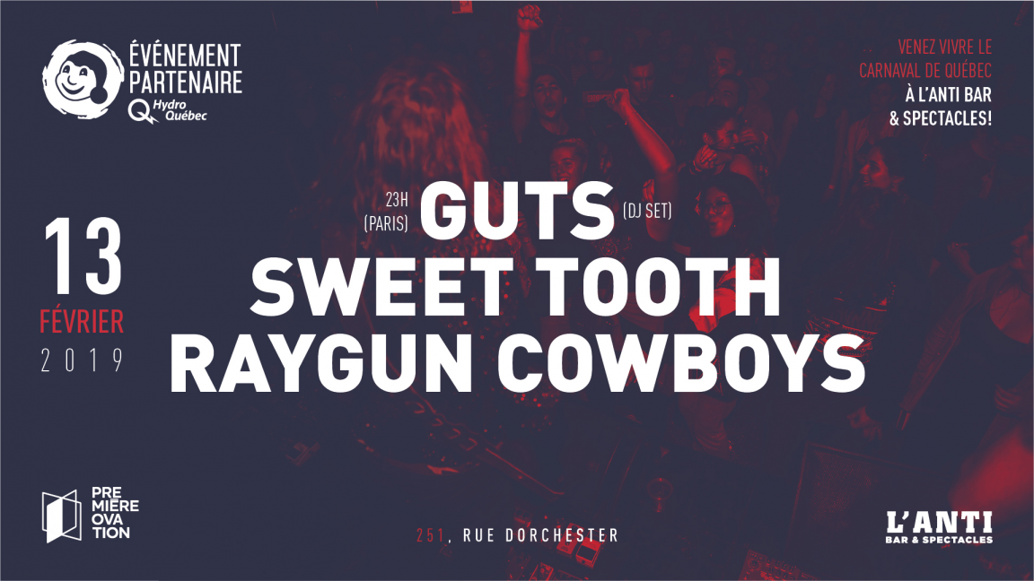 Guts, Sweet Tooth et Raygun Cowboys
