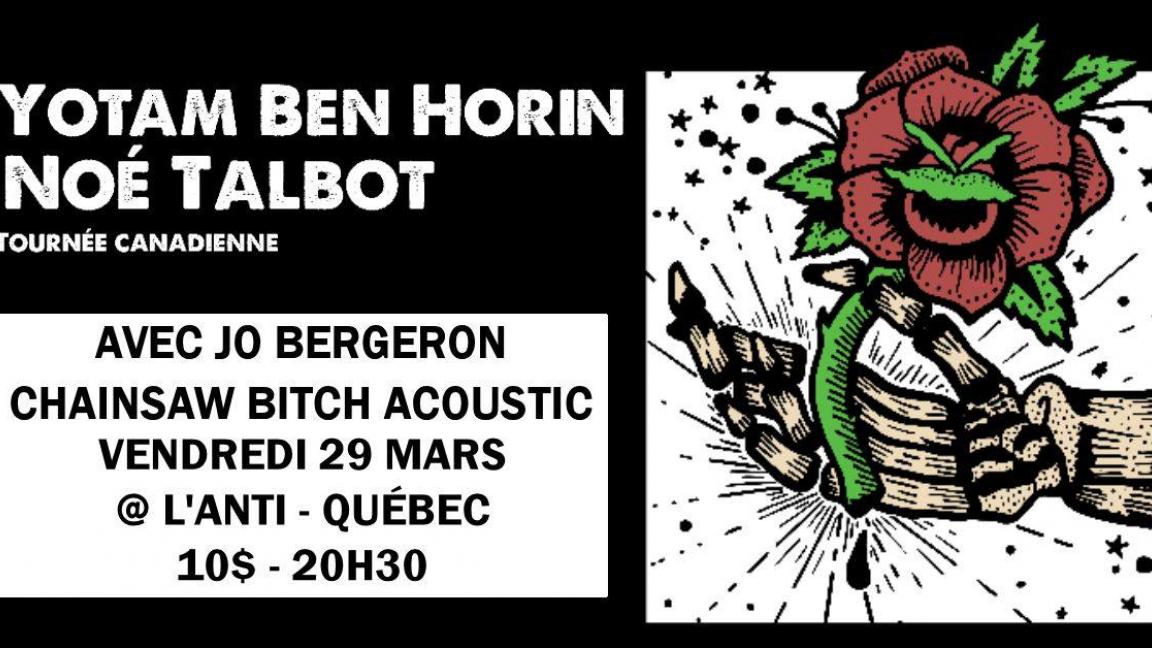Noé Talbot, Yotam Ben Horin (Useless ID) & invités