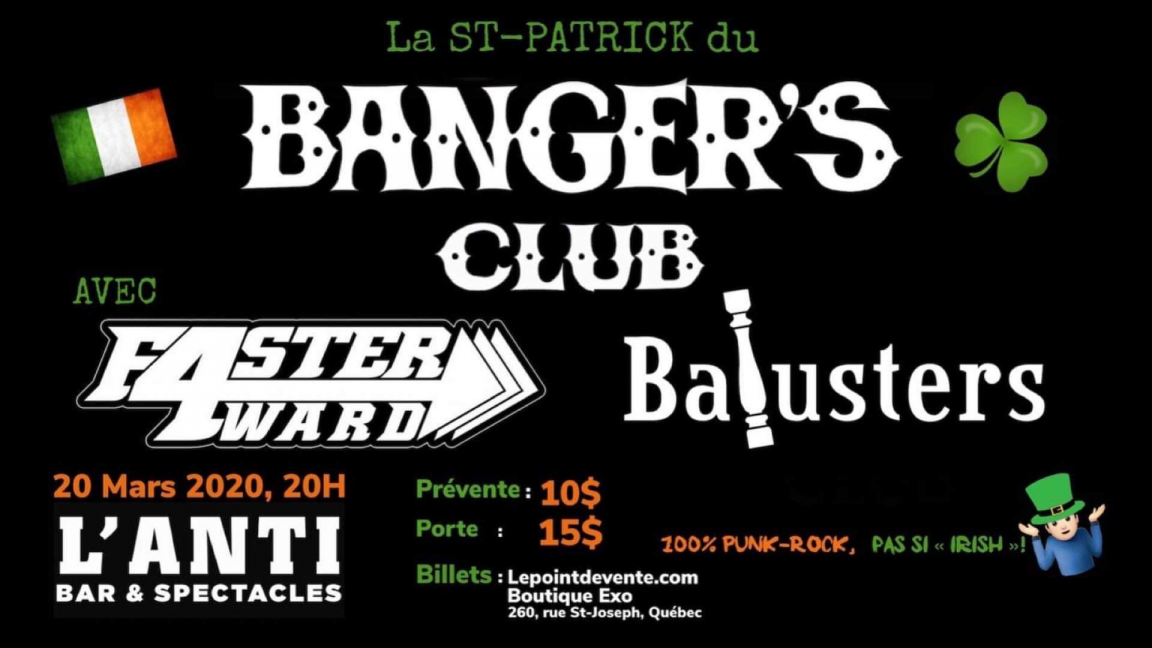 La St.Pat du Banger's Club