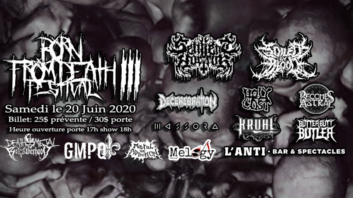 Born From Death Festival 3
