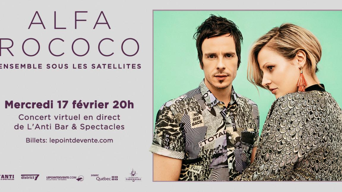 Alfa Rococo - Concert virtuel en direct