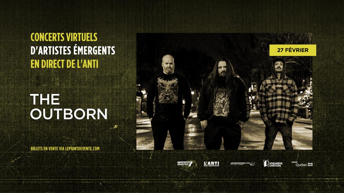 The Outborn - Concert virtuel en direct de L'Anti Bar & Spectacles