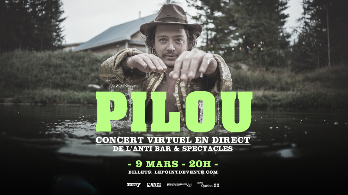 Pilou - Concert virtuel en direct