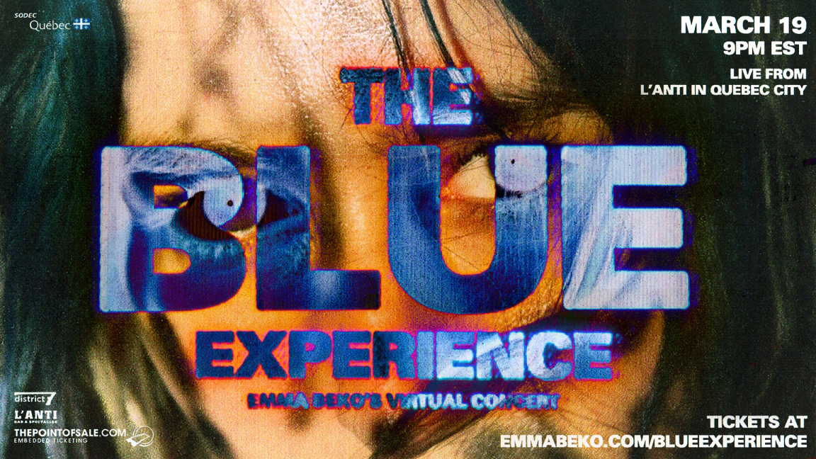 the BLUE experience - Emma Beko's Virtual Concert