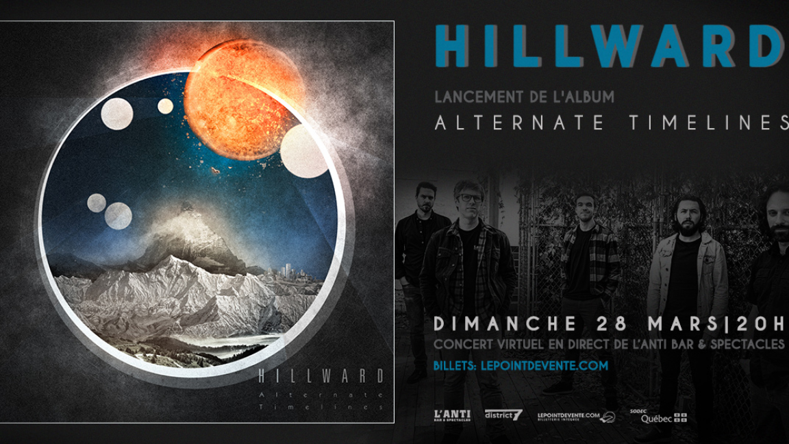 Hillward - Live streaming concert from L'Anti Bar & Spectacles