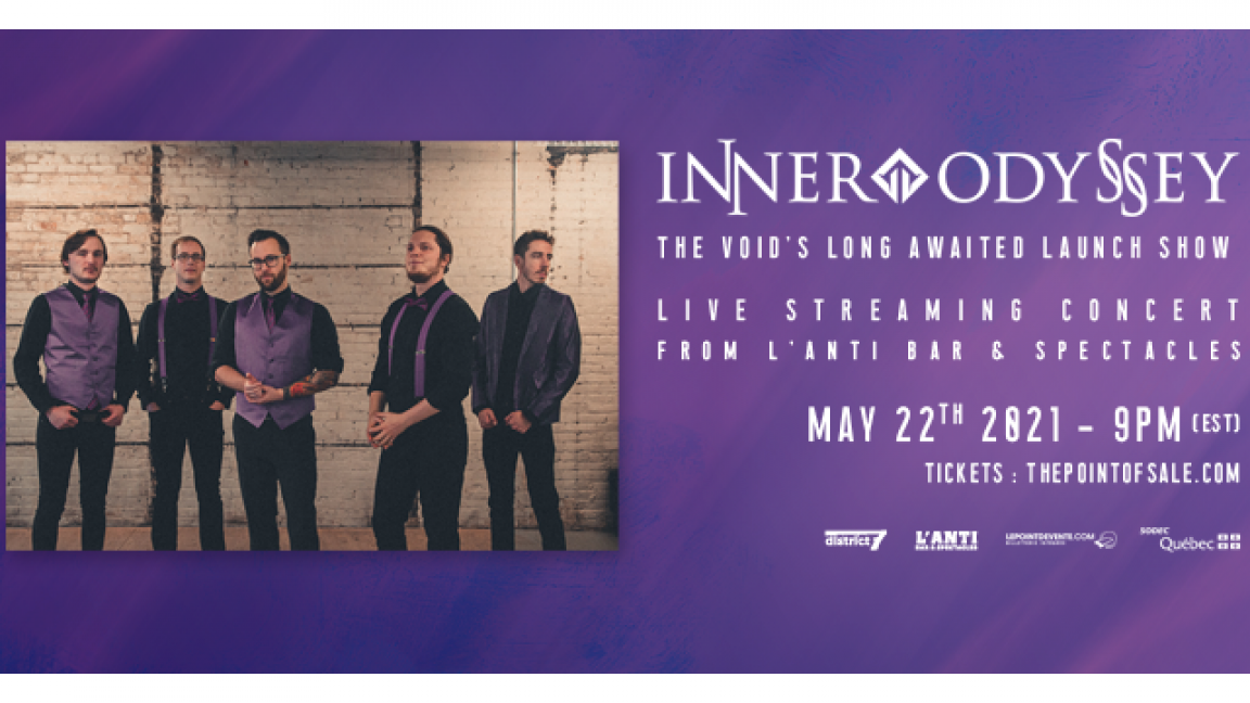 Inner Odyssey - Live streaming concert from L'Anti Bar & Spectacles