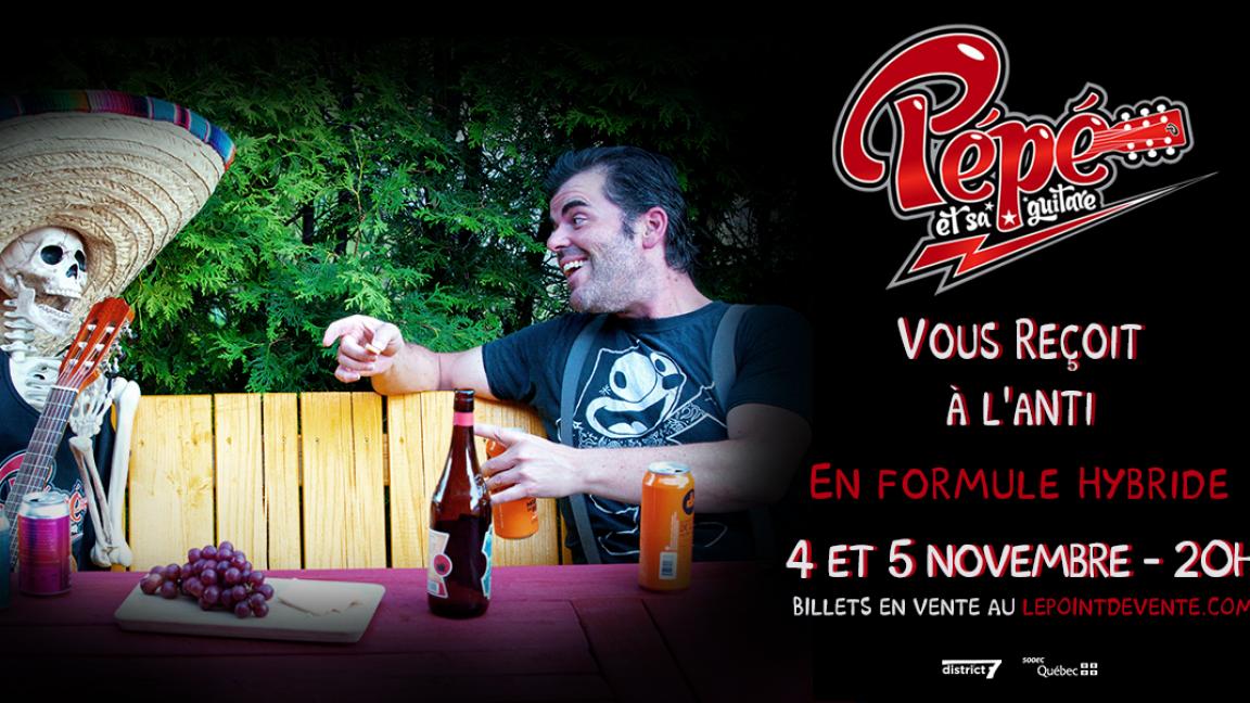 Pépé et sa guitare - 5 novembre - VIRTUEL