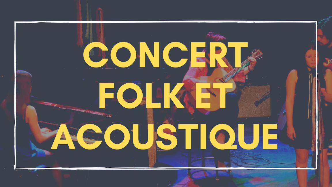 Concert Folk et acoustique