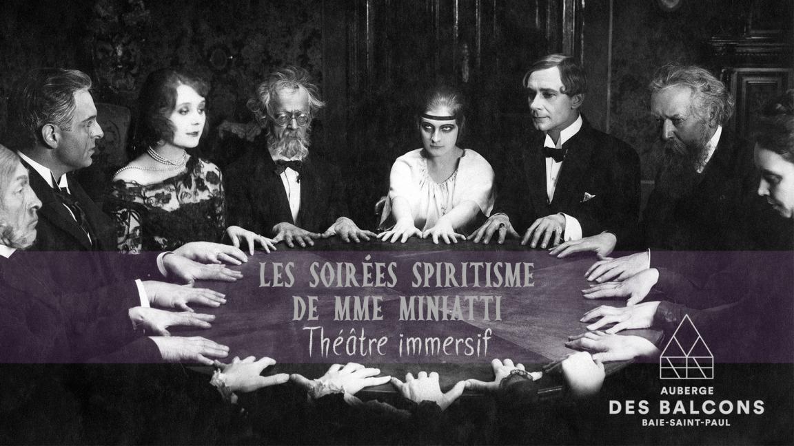 Les soirées spiritisme de Mme Miniatti