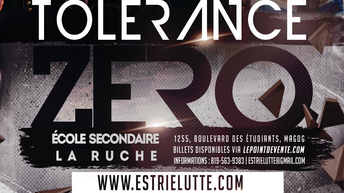 Lutte / Wrestling : Tolerance Zero