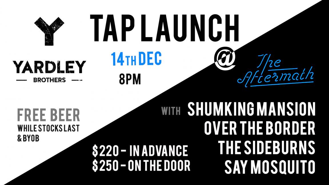Yardley Bros Beer Launch Party