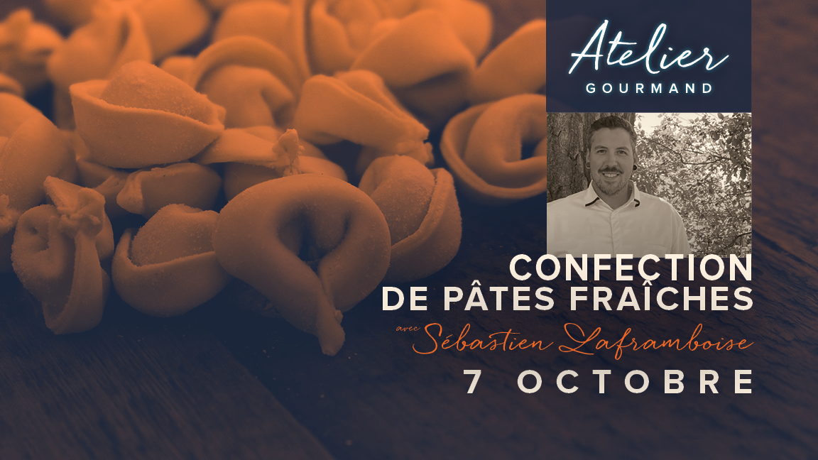 Confection de pâtes fraîches avec Sébastien Laframboise