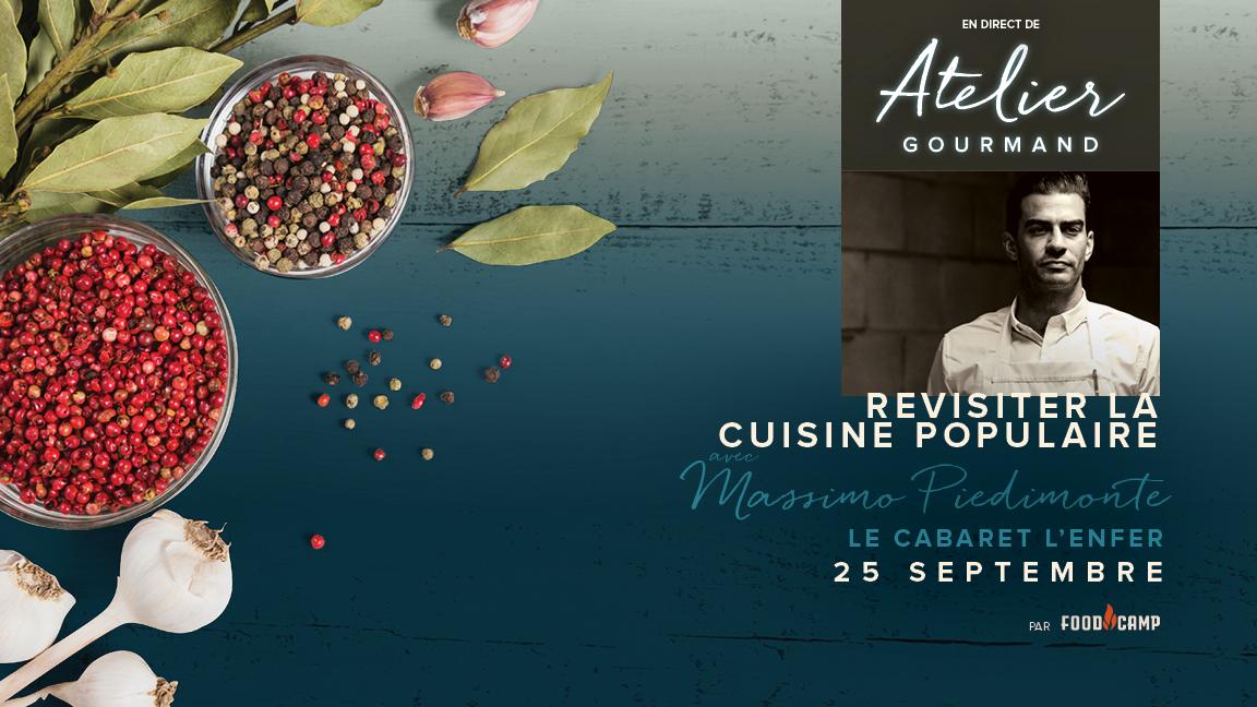 Revisiter la cuisine populaire avec Massimo Piedimonte