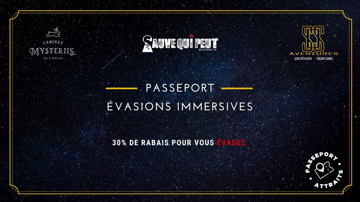 SOS Aventures - Passeport Évasions Immersives