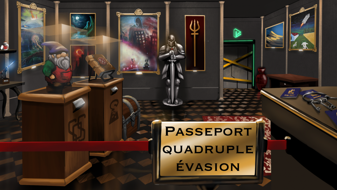 SOS Aventures - Passeport Quadruple Évasion