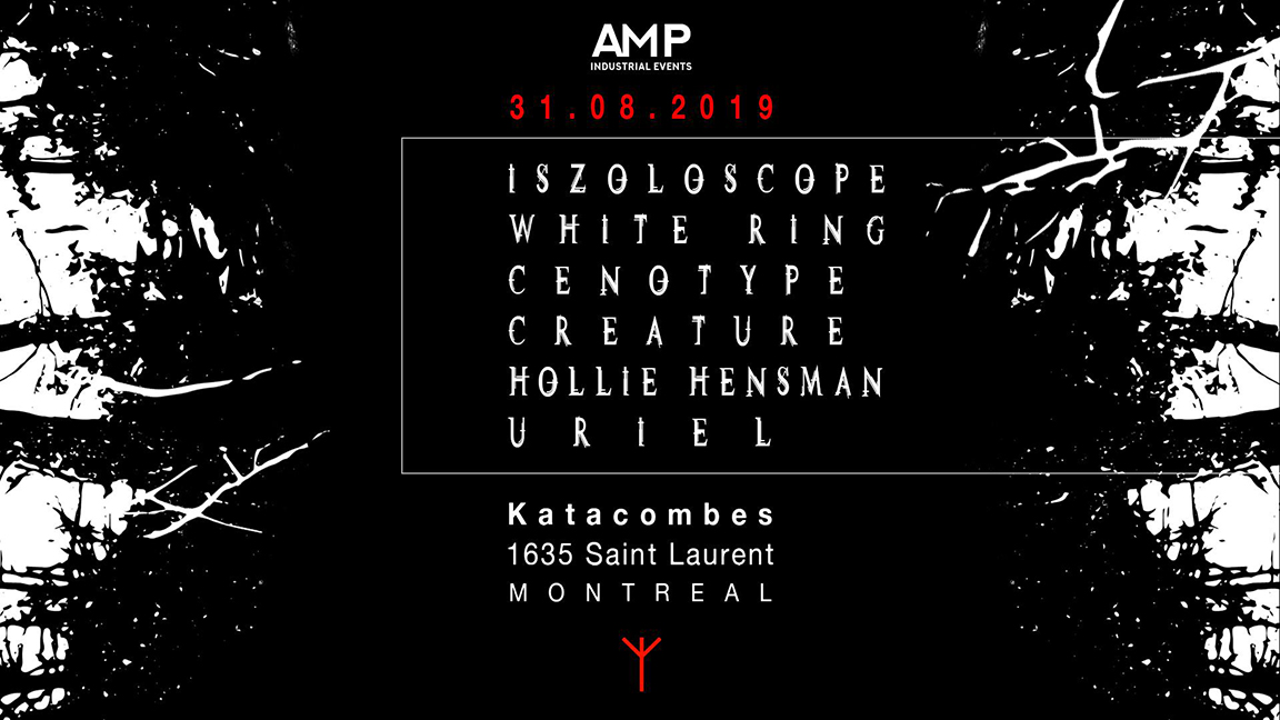 Iszoloscope, White Ring, Cenotype + Invités/Guests