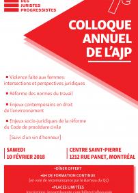 7e Colloque Annuel de l'AJP