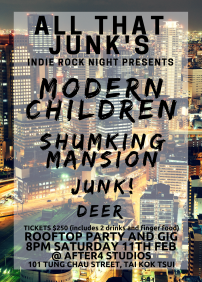 Modern Children, ShumKing Mansion, Junk!, Deer Mx