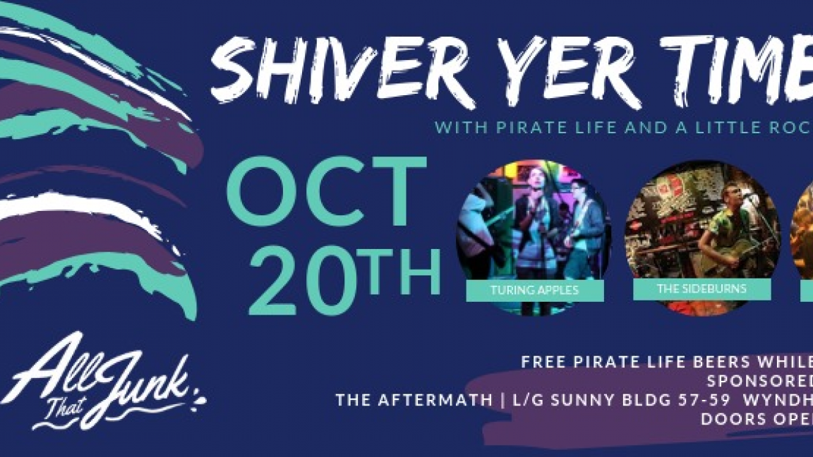 Shiver Yer Timbers with Pirate Life & All That Junk