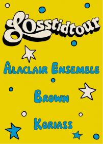 Koriass, Alaclair Ensemble & Brown au Minotaure