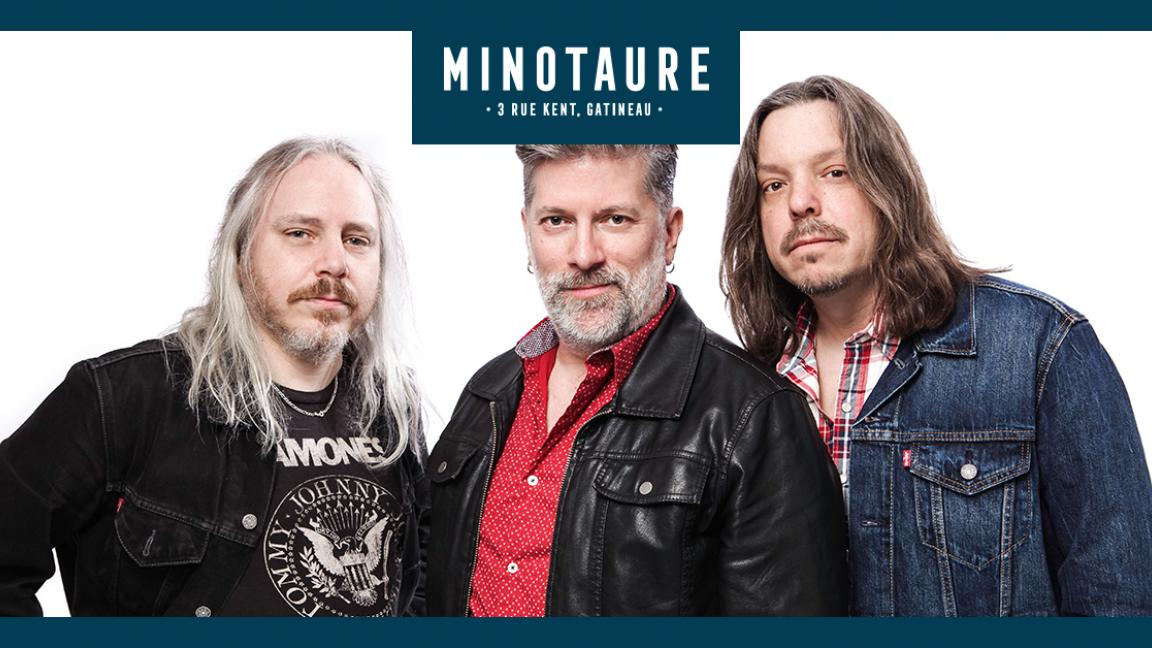 Paul Deslauriers Band au Minotaure