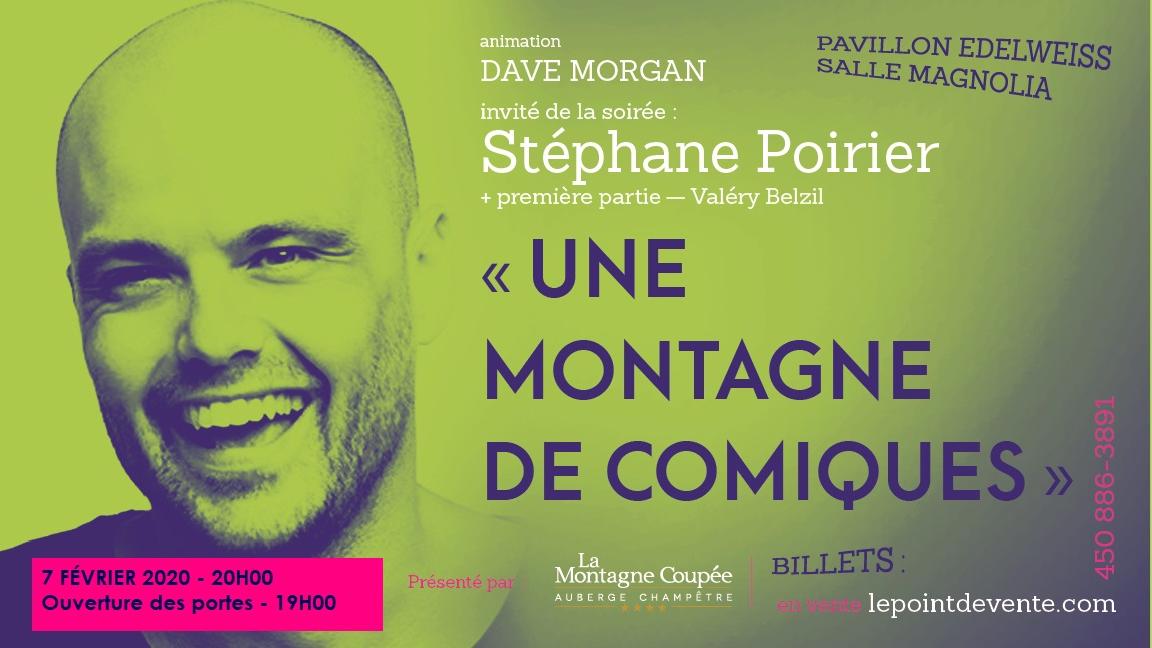Une Montagne de Comiques avec Stéphane Poirier
