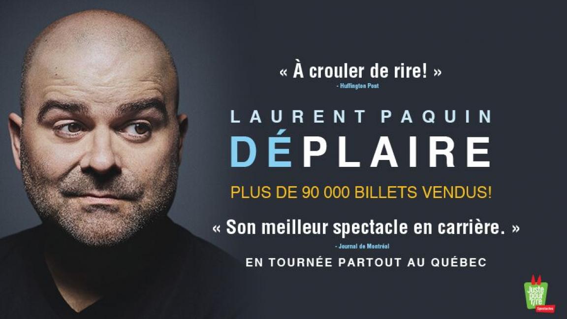 Laurent Paquin - Déplaire