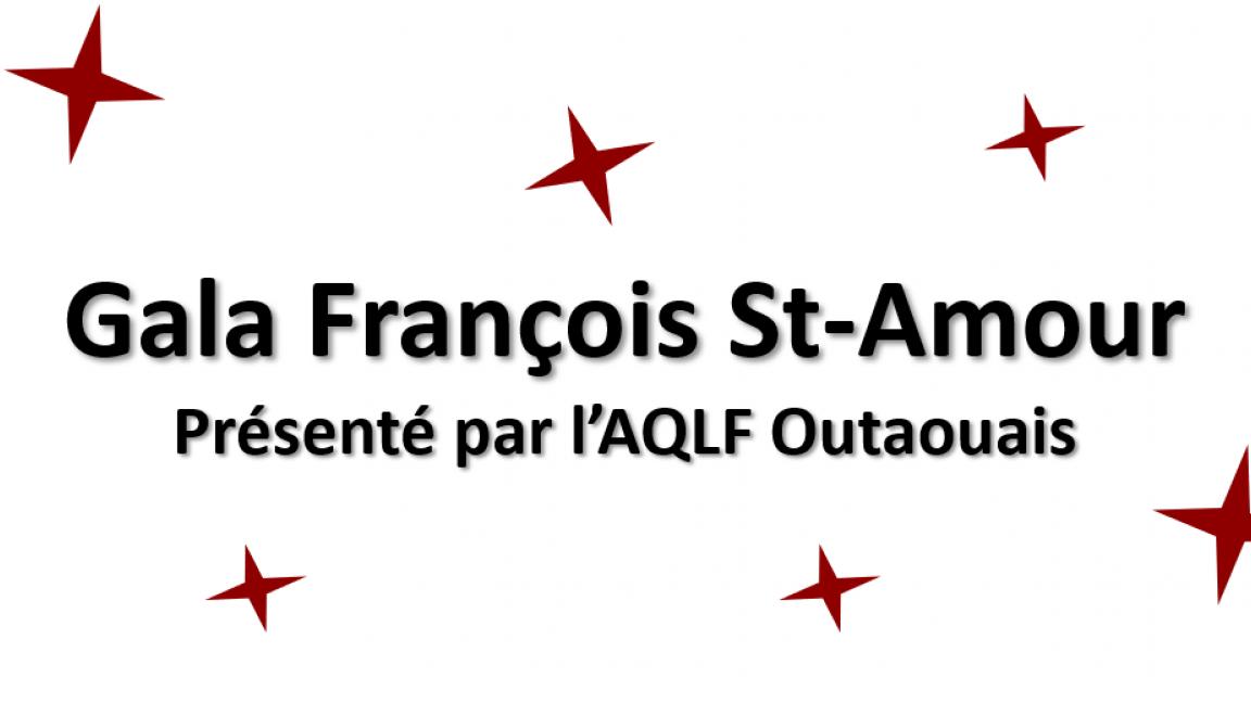 Gala François St-Amour