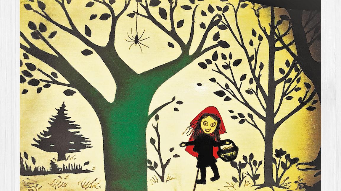 Le Petit chaperon rouge avec La Simagrée