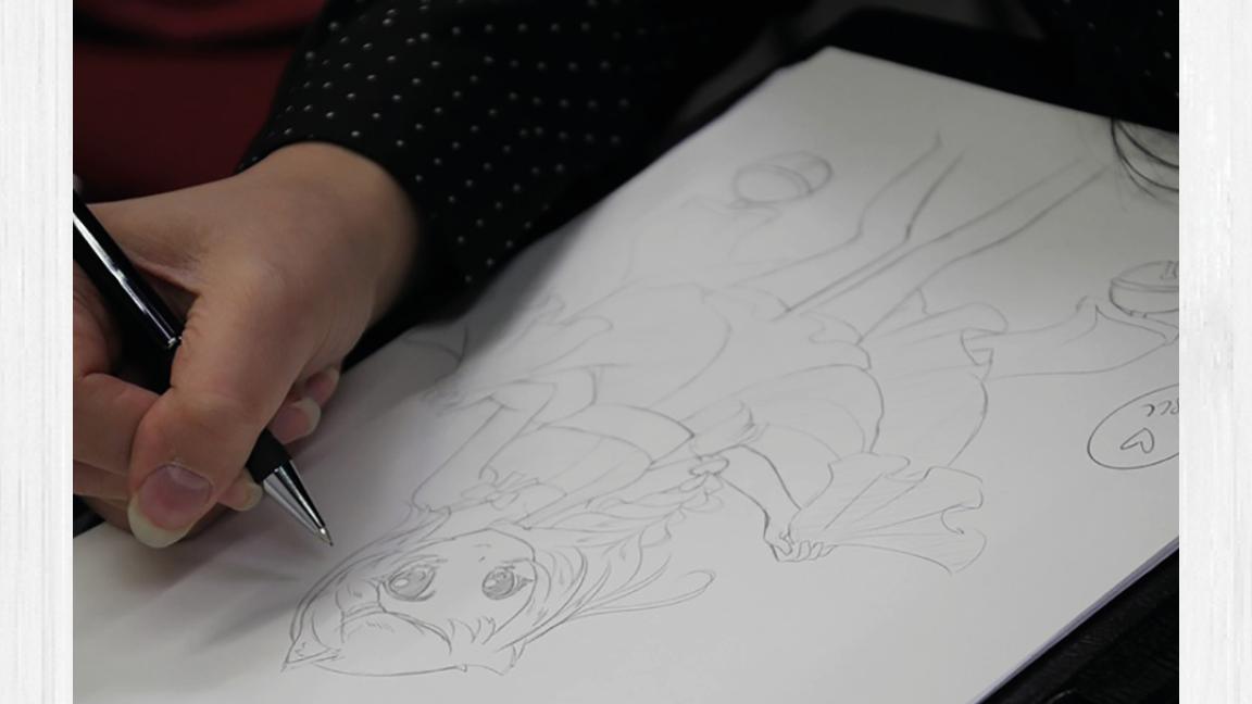 Atelier de dessin : Manga