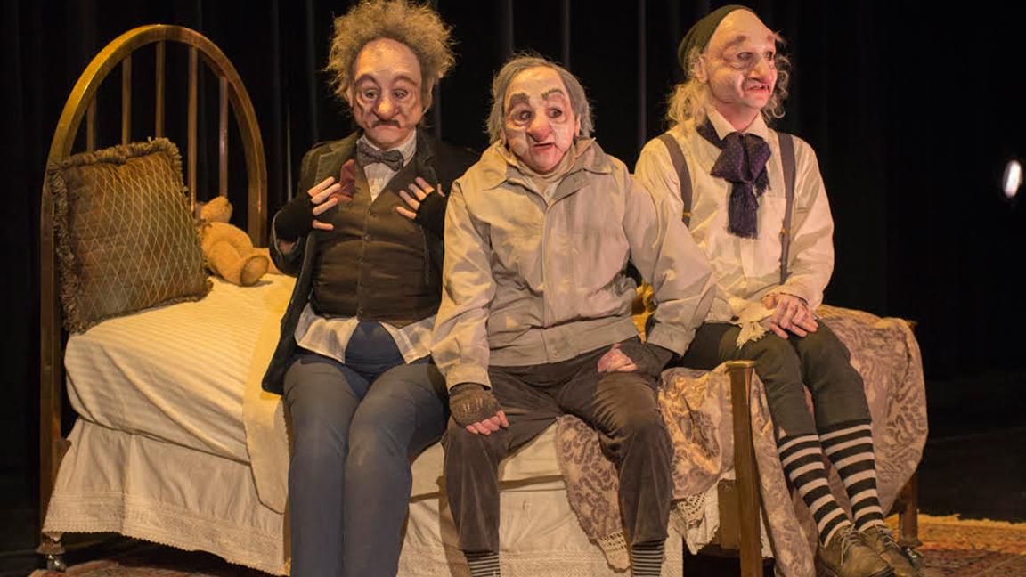 Théâtre du Frèt en coproduction avec le Festival Les Coups de Théâtre / Les trois petits vieux qui ne voulaient pas mourir