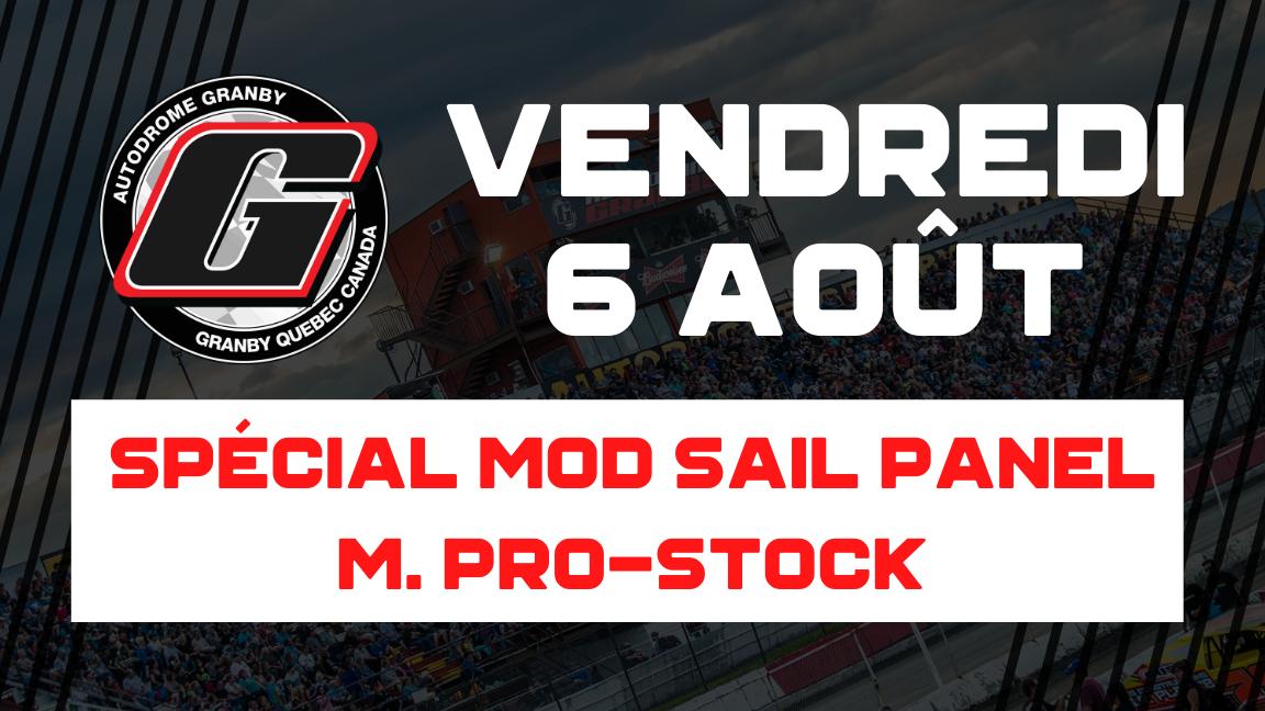 Spécial Modifié Sail Panel / M. Pro-Stock