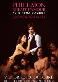 Philémon Cimon refait l'amour au Cinéma L'Amour