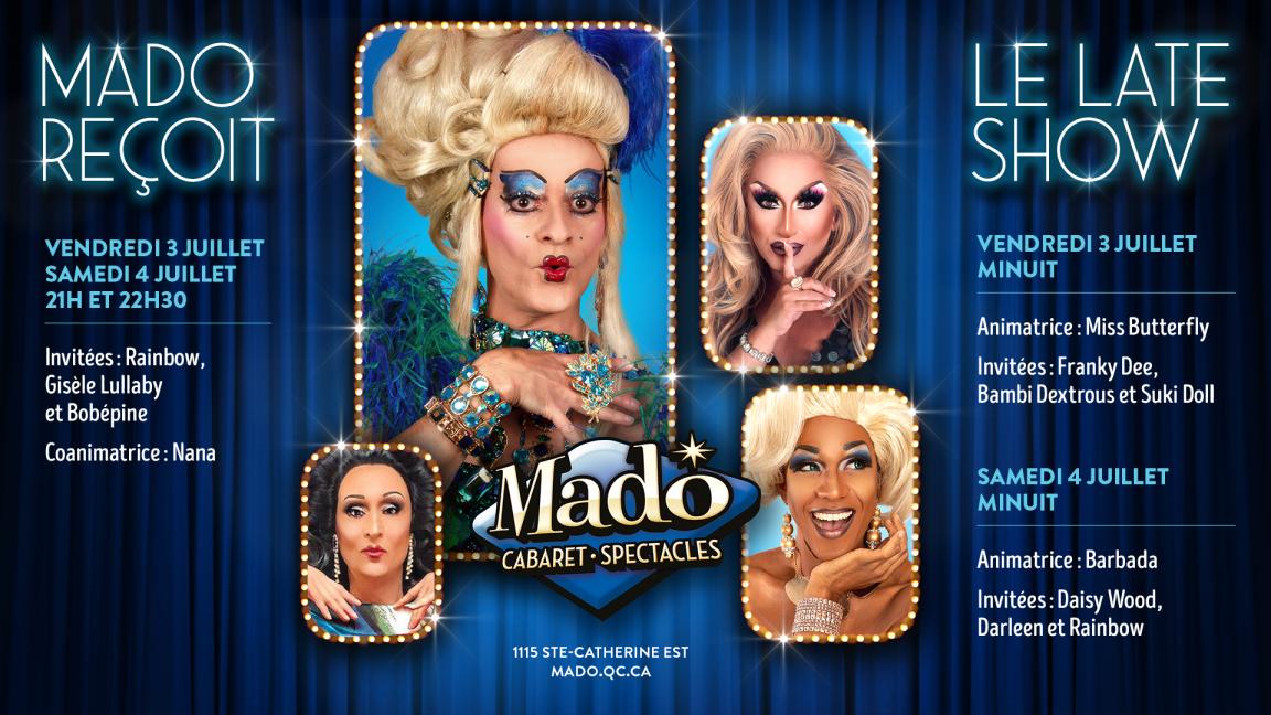 Mado Reçoit vendredi 24 juillet