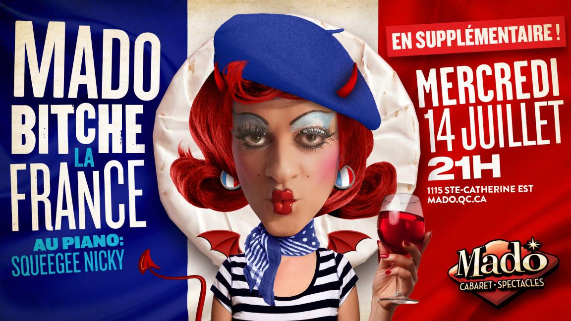 Mado Bitche la France en supplémentaire