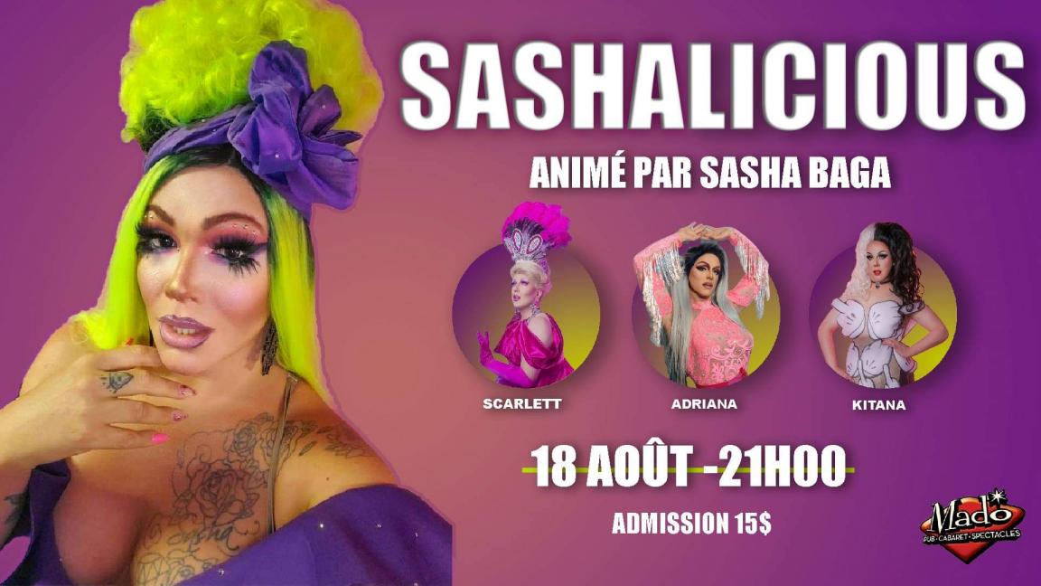 Sashalicious!