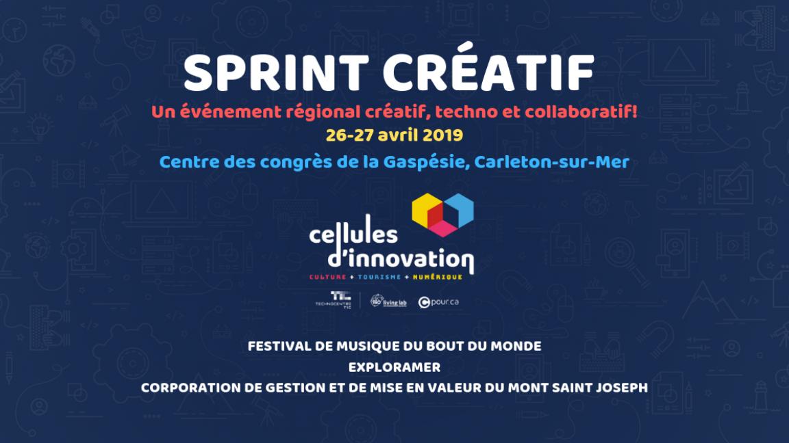 Sprint créatif Gaspésie