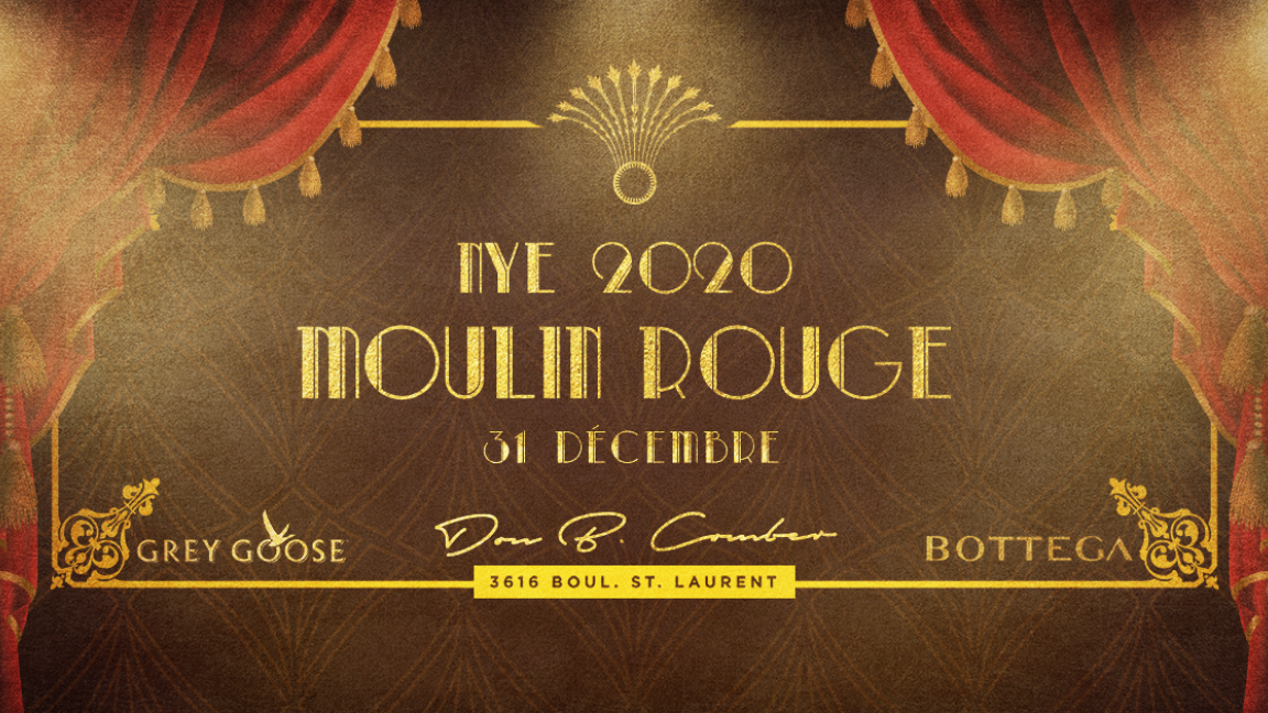 MOULIN ROUGE - NYE 2020