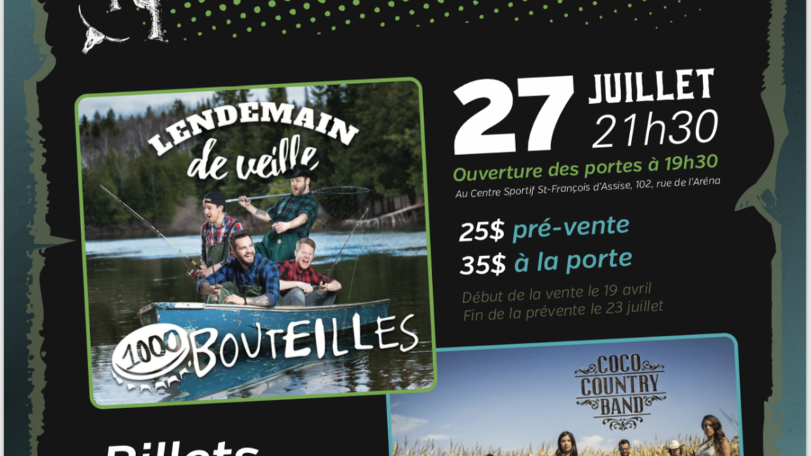 Coco country band + Lendemain de veille !!!