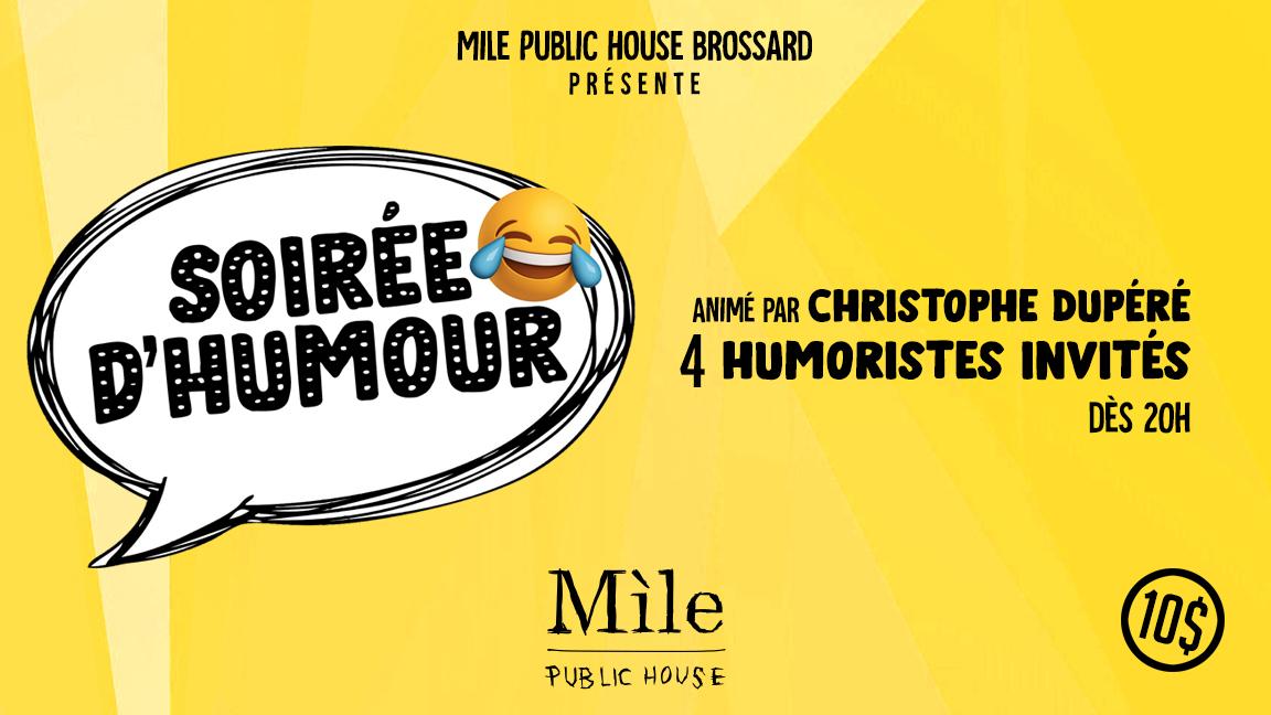 Soirée D'humour au Mile 10/30