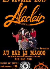 Alaclair Ensemble au Bar le Magog